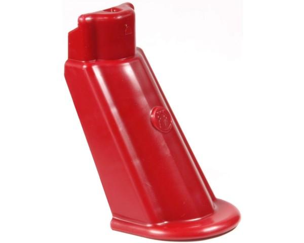 Ersatz-Kunststofffuß rot