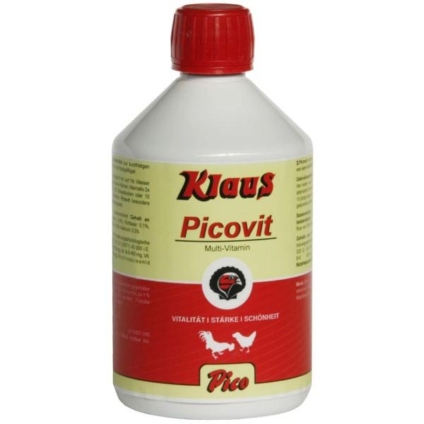 Klaus Picovit Multi-Vitamin für Geflügel, 500 ml