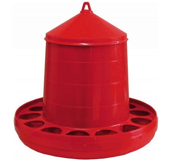 Geflügelfutterautomat rot 12 kg