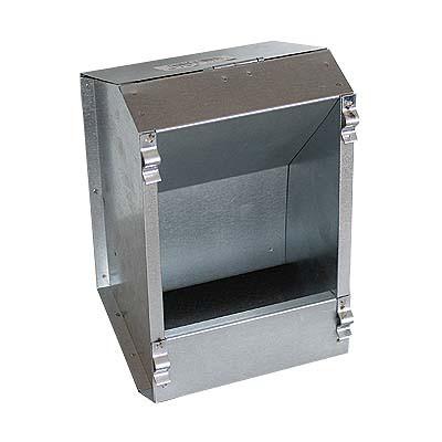3743 Futterautomat aus Blech 1,3 kg