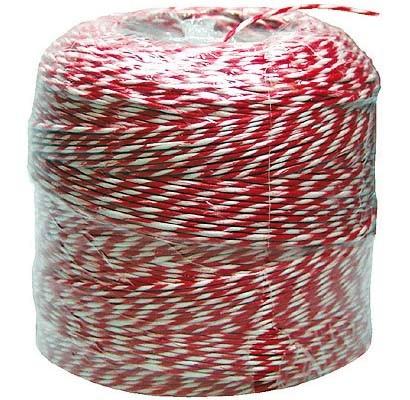 Rollgarn rot/weiß 100 g