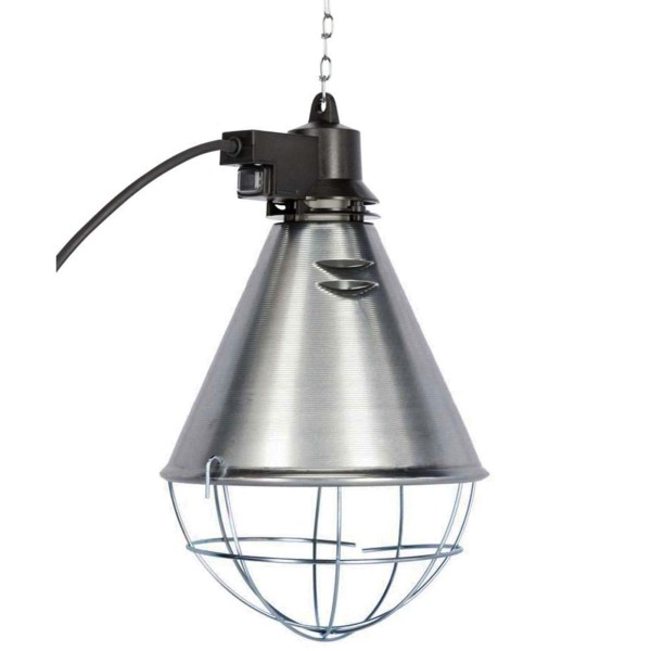 Schutzkorb für Infrarotlampen (mit Sparschalter)