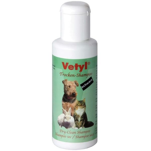 Trocken-Shampoo Vetyl, 100 g, Farbton schwarz
