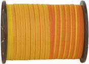 5055 Weidezaunband 10 mm, gelb/orange, 200 m