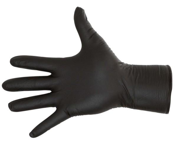 Nitril-Einmalhandschuhe schwarz
