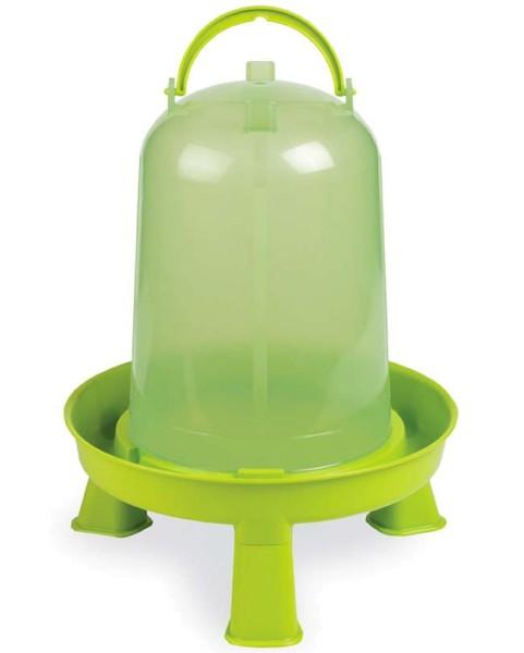 Stülptränke transparent lemongrün mit Füße, 3 Liter