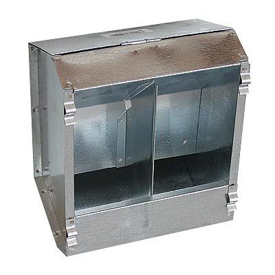 3744 Futterautomat aus Blech 2,3 kg