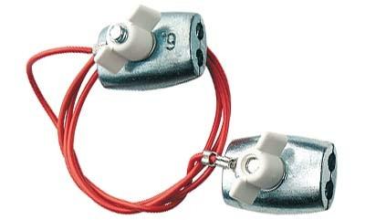 Stromverbinder (Etagenverbinder) für Seile