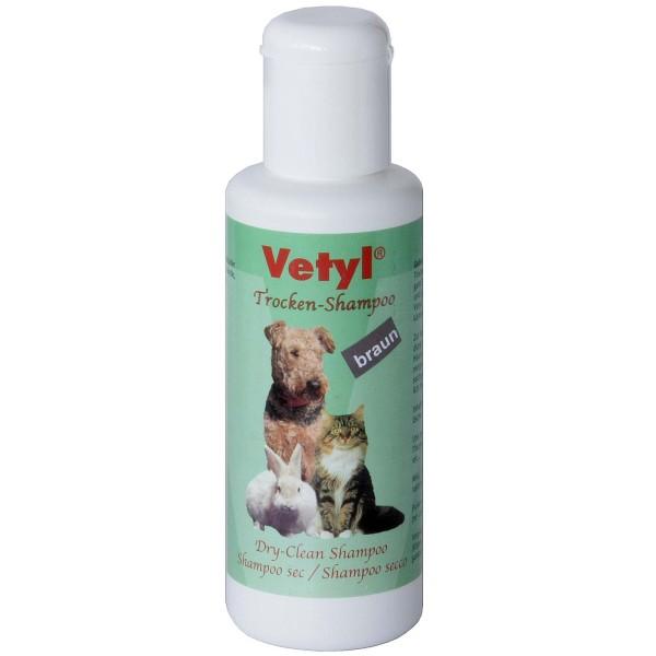 Trocken-Shampoo Vetyl, 100 g, Farbton braun