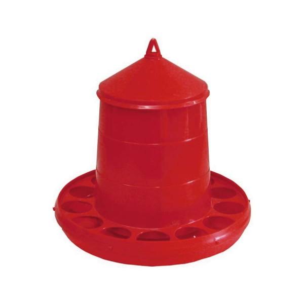 Geflügelfutterautomat rot 2 kg
