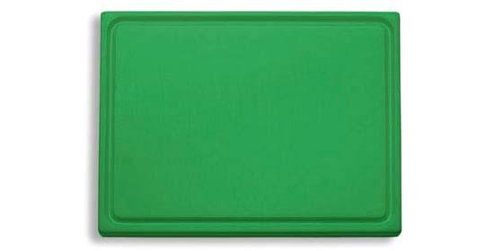 Dick-Kunststoff-Schneidbrett 26,5 x 32,5 cm, grün