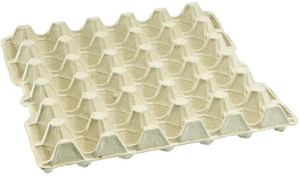 Höcker-Eierverpackung für 30 M- und L-Eier