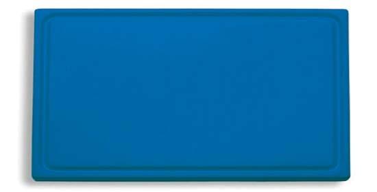 Dick-Kunststoff-Schneidbrett 53,0 x 32,5 cm, blau