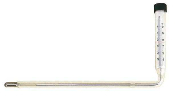Brut-Winkelthermometer, nach links abgewinkelt