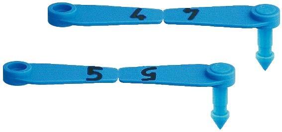 Prima-Flex-Ohrmarken Gr. 0 (25 Stück)