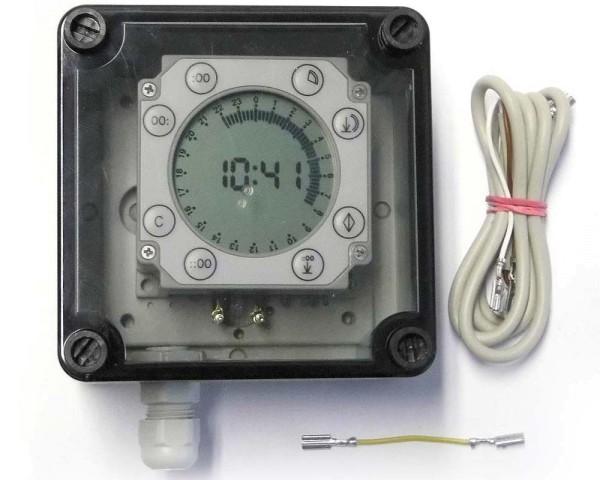 Zeitschaltuhr digital für Pförtner Batterie
