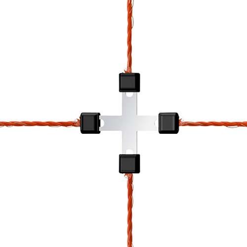 AKO Litzclip Litzenverbinder 8-teilig (Reparaturset für Netze)