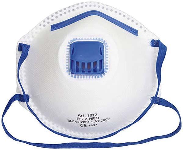 Atemschutzmaske / Feinstaubmaske FFP2 mit Ventil, 3 Stück