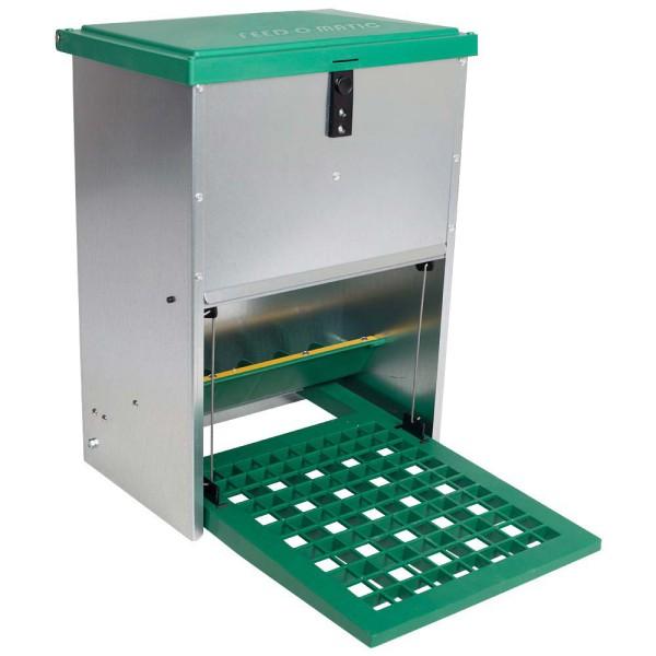 Futterautomat mit Trittplatte, für 12 kg
