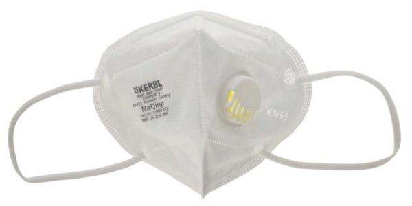 Atemschutzmaske SARS-Cov-2 (CPA) mit Ventil, 5 Stück