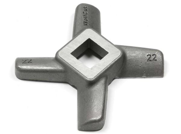 Kreuz-Messer für Fleischwolf Gr. 22