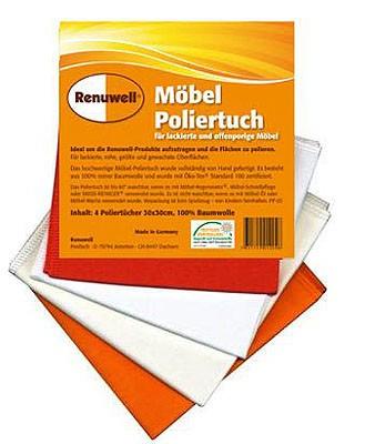 5563 Renuwell Möbel-Poliertuch (4er-Pack)