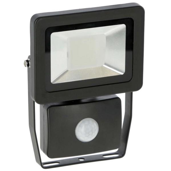 LED-Außenstrahler 10 Watt mit Bewegungsmelder